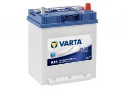 Автомобильный аккумулятор АКБ VARTA (ВАРТА) Blue Dynamic 540 125 033 A13 40Ач тонкие клеммы нижнее крепление ОП