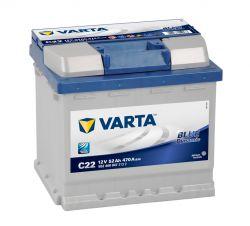 Автомобильный аккумулятор АКБ VARTA (ВАРТА) Blue Dynamic 552 400 047 C22 52Ач ОП