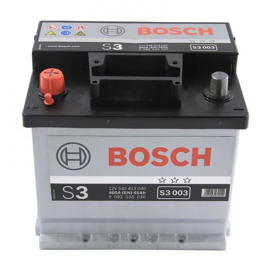 Автомобильный аккумулятор АКБ BOSCH (БОШ) S3 003 / 545 413 040 S3 45Ач п.п.