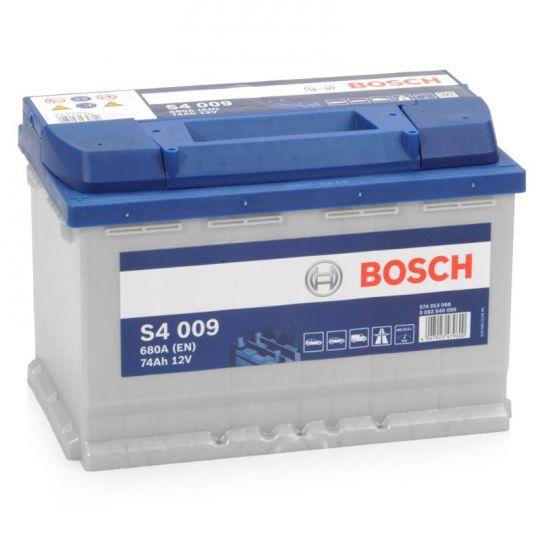 Автомобильный аккумулятор АКБ BOSCH (БОШ) S4 009 / 574 013 068 S4 Silver 74Ач п.п.