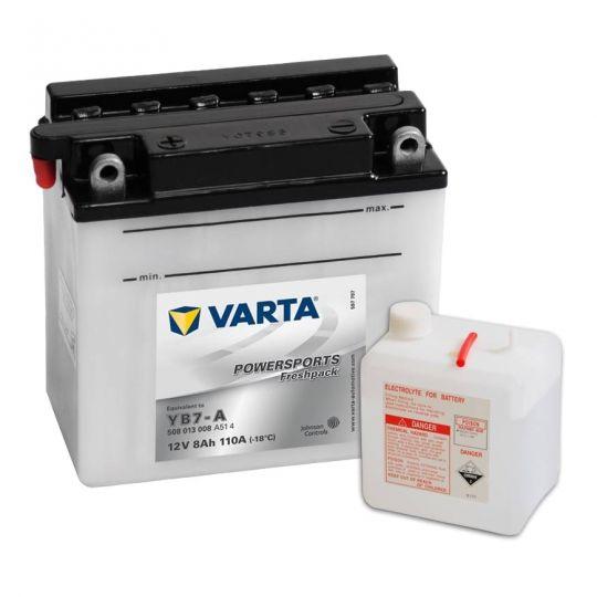 Мото аккумулятор АКБ VARTA (ВАРТА) FP 508 013 008 A514 YB7-A 8Ач п.п.