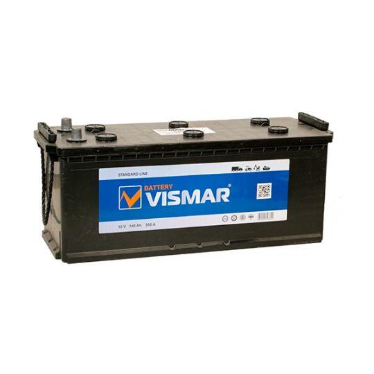 Автомобильный аккумулятор АКБ Vismar (ВИСМАР) 6СТ-140 140Ач о.п. (3) (евро)