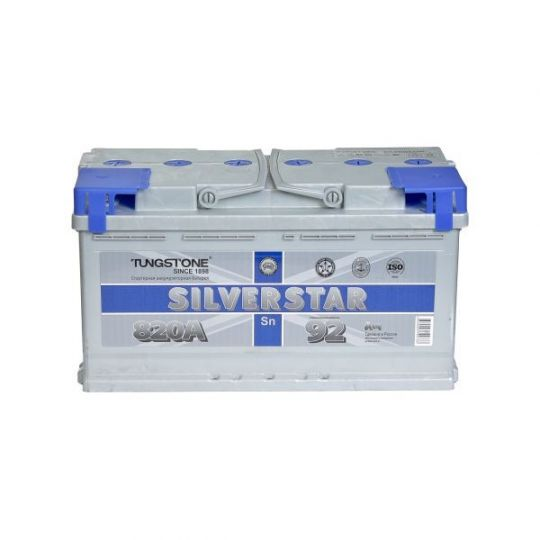 Автомобильный аккумулятор АКБ SilverStar (Сильвер Стар) 6СТ-92 L 92Ач о.п.