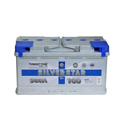 Автомобильный аккумулятор АКБ SilverStar (Сильвер Стар) 6СТ-100 L 100Ач о.п.