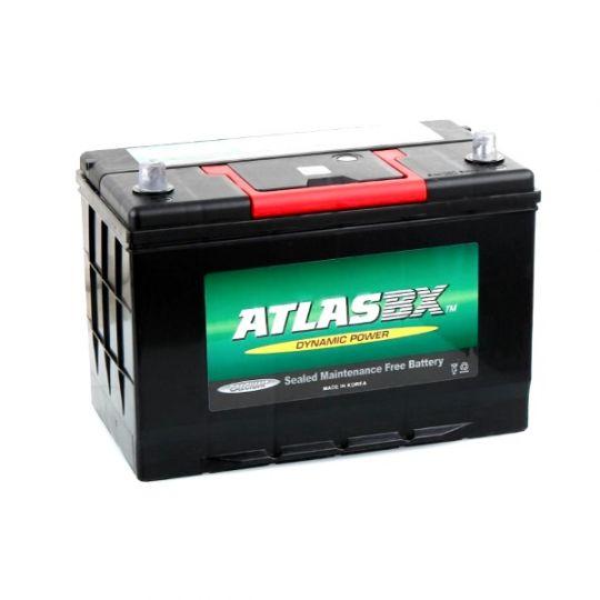 Автомобильный аккумулятор АКБ ATLAS (Атлас) MF60046 100Ач п.п. нижнее крепление