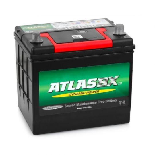 Автомобильный аккумулятор АКБ ATLAS (Атлас) MF75D23L 65Ач о.п.