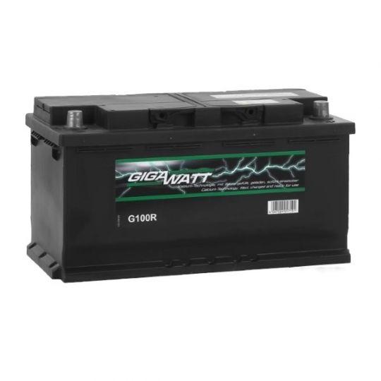 Автомобильный аккумулятор АКБ GigaWatt (Гигават) G100R 600 402 083 100Ач о.п.