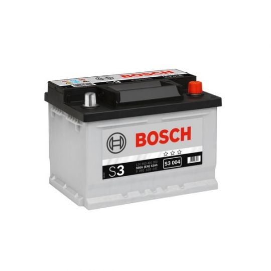 Автомобильный аккумулятор АКБ BOSCH (БОШ) S3 004 / 553 401 050 S3 53Ач о.п.
