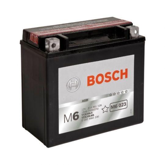 Аккумулятор для мототехники Varta 18Ач Moto AGM 518 902 026 (YTX20-BS) - фото 6