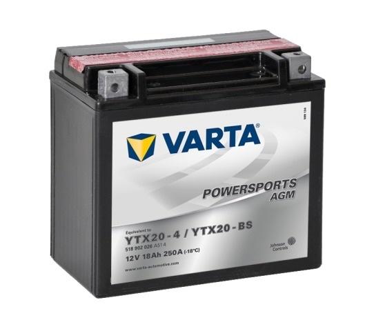 Аккумулятор для мототехники Varta 30Ач Moto 530 400 030 (YB30L-B) - фото 8
