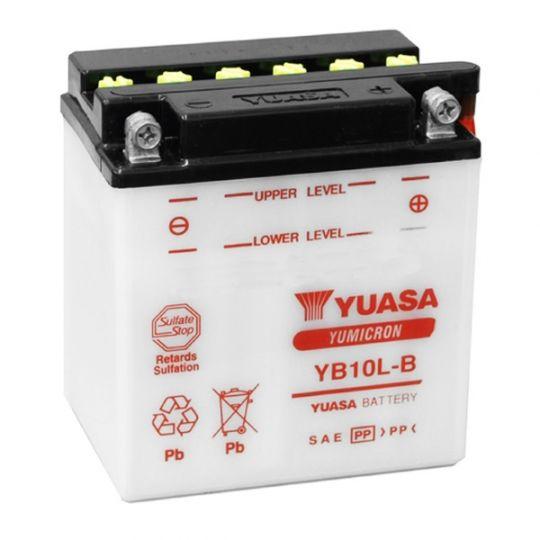 Мото аккумулятор АКБ YUASA (Юаса) YB10L-B 11Ач о.п.