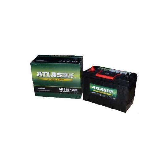 Автомобильный аккумулятор АКБ ATLAS (Атлас) MF31S 105Ач у.п.