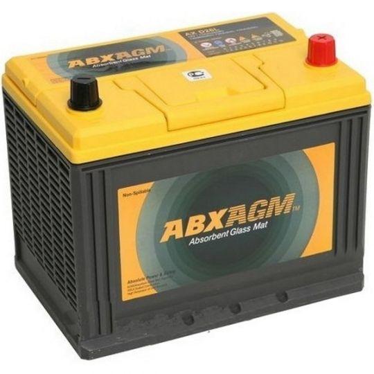 Автомобильный аккумулятор АКБ ATLAS (Атлас) AGM AX S55D23R 55Ач п.п.