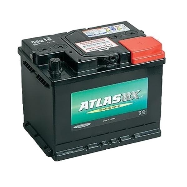 Автомобильный аккумулятор АКБ ATLAS (Атлас) 56219 62Ач о.п.