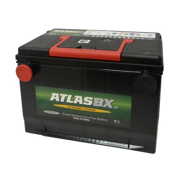 Автомобильный аккумулятор АКБ ATLAS (Атлас) 130RC MF78-670 70Ач боковые клемы