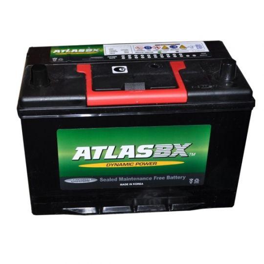 Автомобильный аккумулятор АКБ ATLAS (Атлас) 155RC MF34R-750 85Ач о.п.