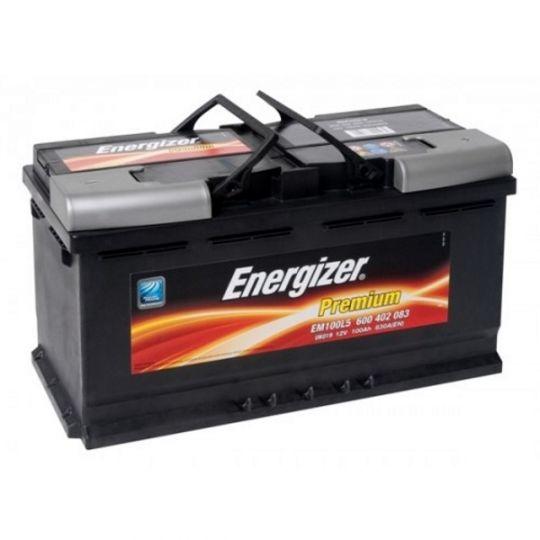 Автомобильный аккумулятор АКБ Energizer (Энерджайзер) EM100L5 600 402 083 100Ач о.п.