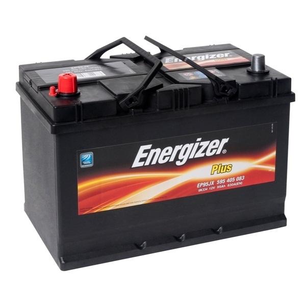 Автомобильный аккумулятор АКБ Energizer (Энерджайзер) PLUS EP95JX 595 405 083 95Ач п.п.