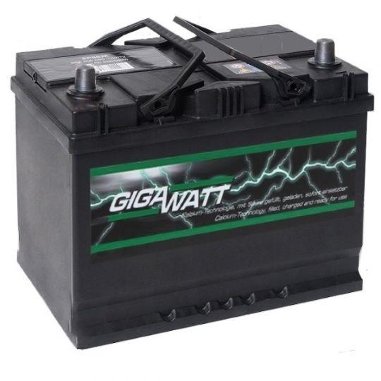 Автомобильный аккумулятор АКБ GigaWatt (Гигават) G68JR 568 404 055 68Ач о.п.