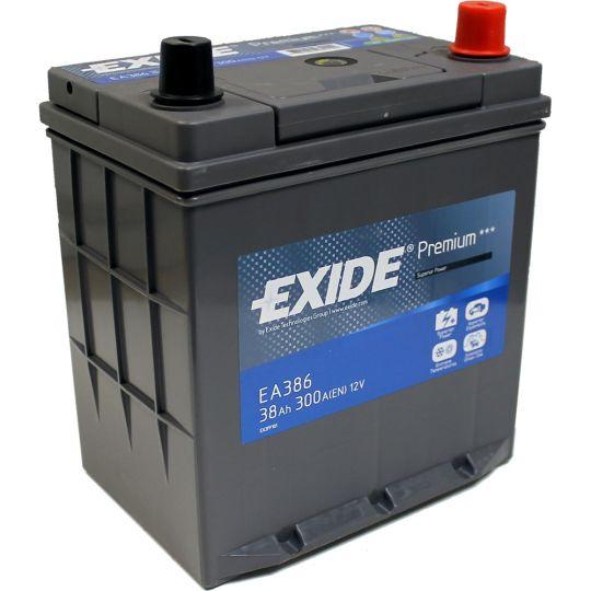 Автомобильный аккумулятор АКБ Exide (Эксайд) Premium EA386 38Ач о.п.
