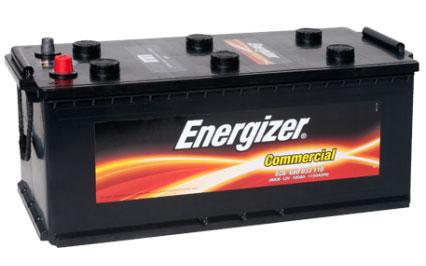 Автомобильный аккумулятор АКБ Energizer (Энерджайзер) EC6 680 033 110 180Ач П.П. (4) (росс)